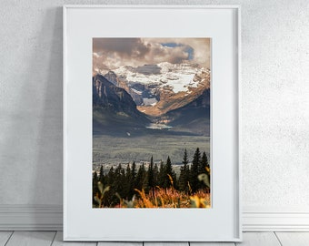 Banff in Fall Photography Print