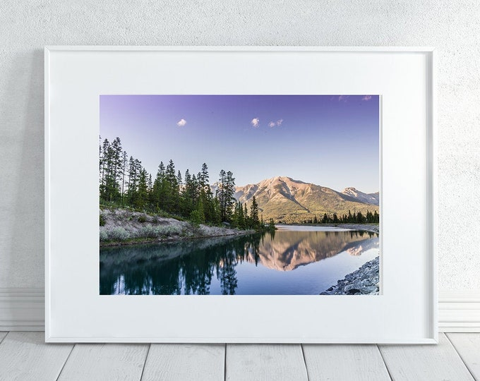 Mountain Reflection Photography Print