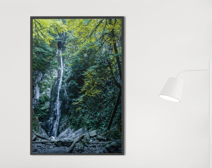 Waterfall Photography Print