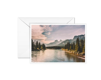 Blank Mountain Card