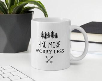 Hike More Worry Less Mug