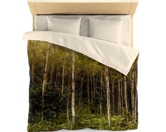 Birch Tree Duvet Cover