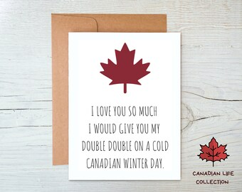 Funny Canadian Greeting Card