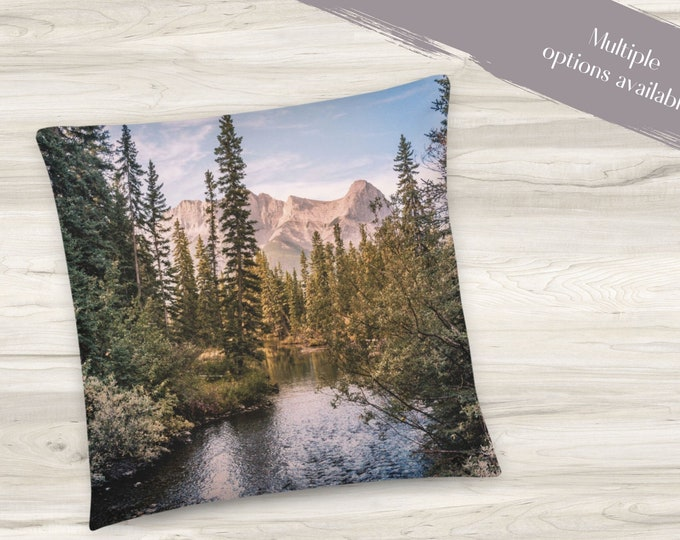 Featured listing image: Mountain Wilderness Throw Pillow