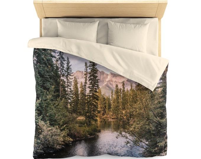 Mountain Forest Duvet Cover