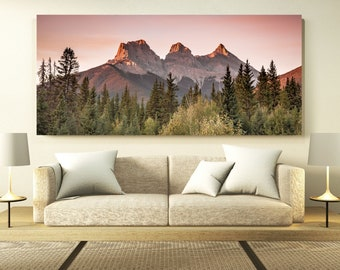 Mountain Peaks Photography Print