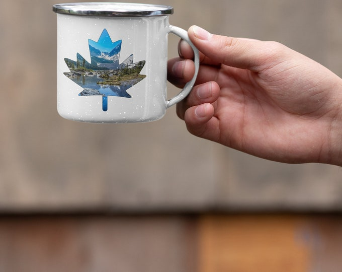 Banff Maple Leaf Mug