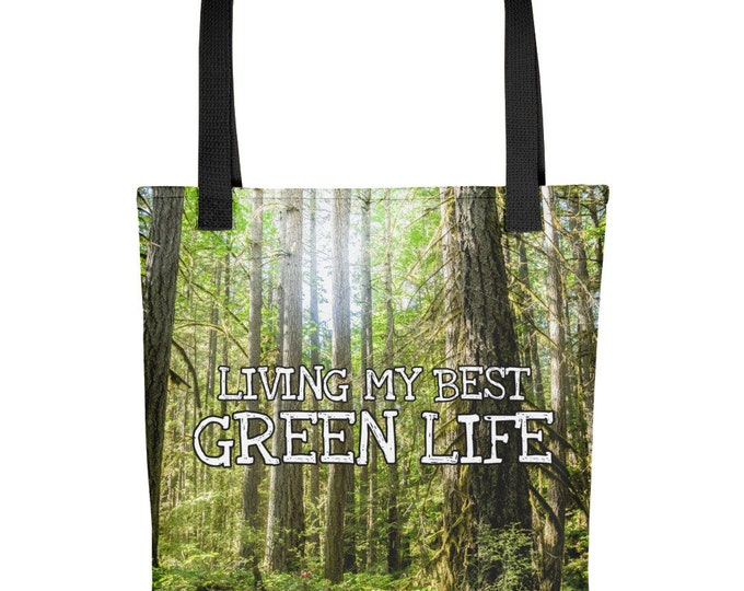 Forest Tote Bag for Nature Lover Tree Gift for Mom Eco Friendly Gift for Her Summer Bag for Beach Bag for School Woodland Mothers Day Gift