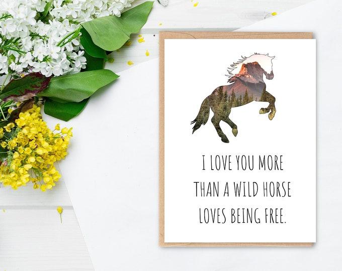 Horse Card