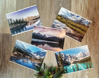 Rocky Mountain Cards Set of 5