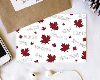Canada Postcard Set