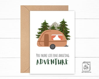 Adventure Love Card