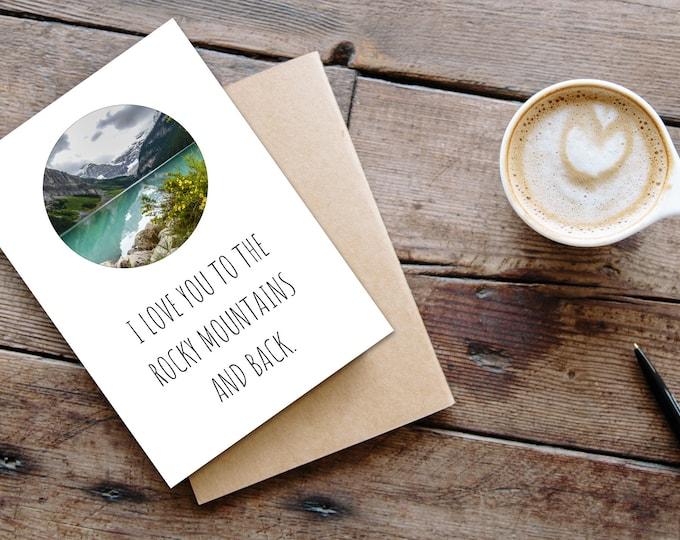 Cute Mountain Card