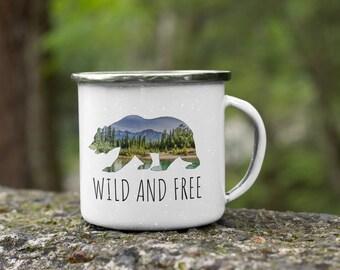 Wild and Free Mug