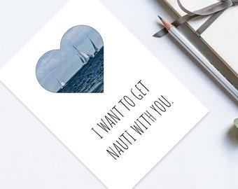 Funny Nautical Card