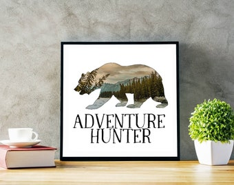 Adventure Hunter Print
