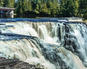 Roaring Waterfall Wall Art