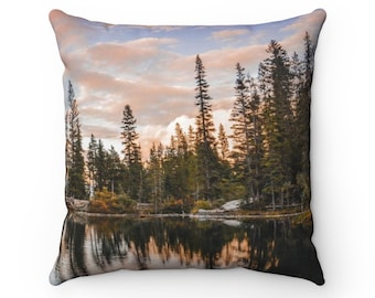 Woodland Sunset Pillow