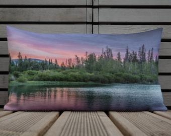 Sunset Lake Pillow