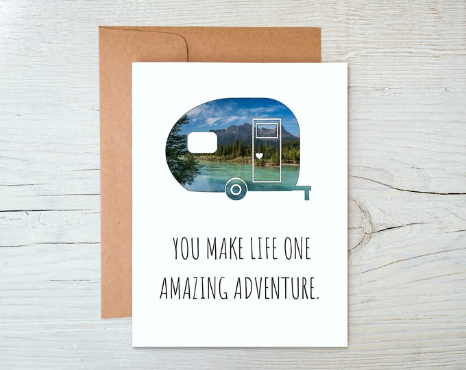 Camper Greeting Card