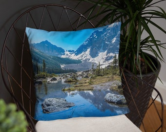 Mountain Reflection Pillow