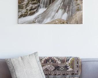 Vancouver Island Waterfall Wall Art Print and Canvas Wall Decor