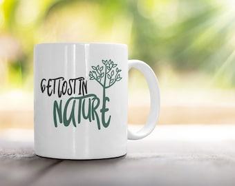 Get Lost in Nature Mug