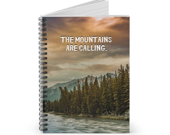 The Mountains are Calling Notebook