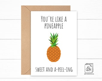 Pineapple Love Card