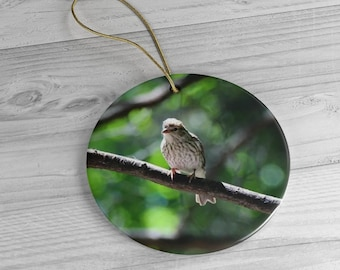 Sparrow Tree Ornament