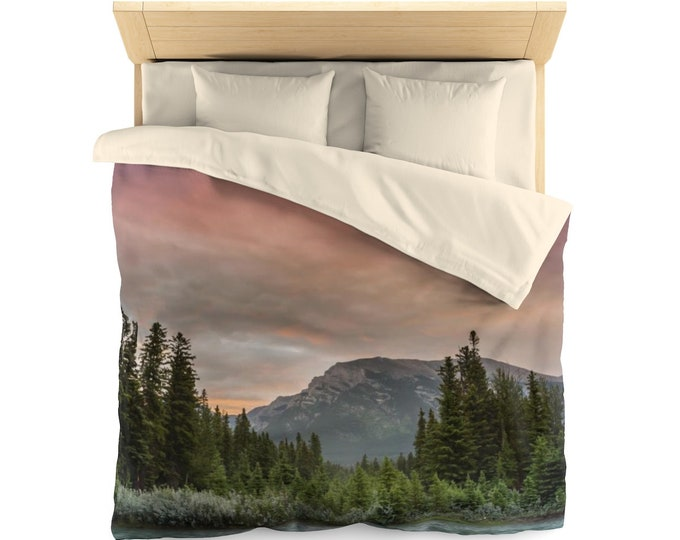 Featured listing image: Woodland Sunrise Duvet Cover