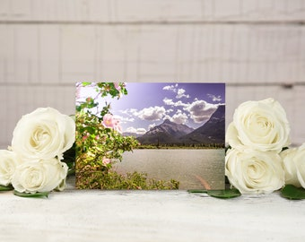 Rocky Mountain Flowers Greeting Card