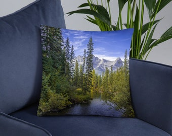 Mountain Forest Pillow
