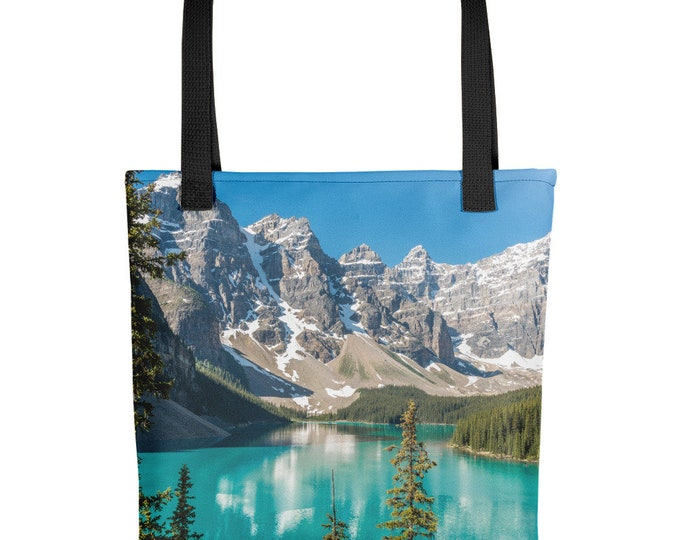 Featured listing image: Moraine Lake Tote Bag