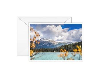 Blank Canadian Rockies Card