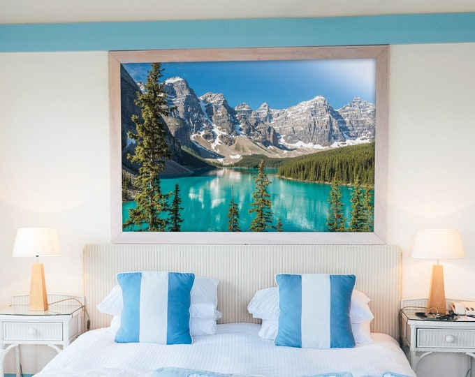 Moraine Lake Photography Print and Canvas Wall Art
