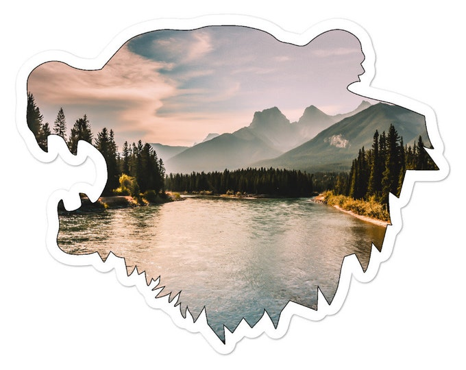 Northern Bear Sticker