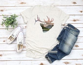 Women's Mountain Elk Shirt