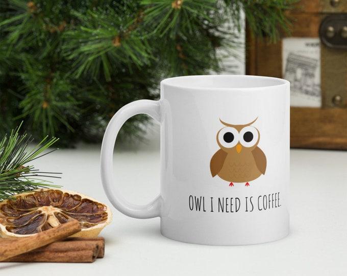 Featured listing image: Owl Coffee Mug