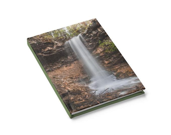 Hardcover Woodland Waterfall Journal
