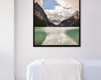 Lake Louise Wall Art Print and Canvas Wall Decor