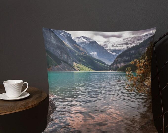 Autumn Mountain Pillow