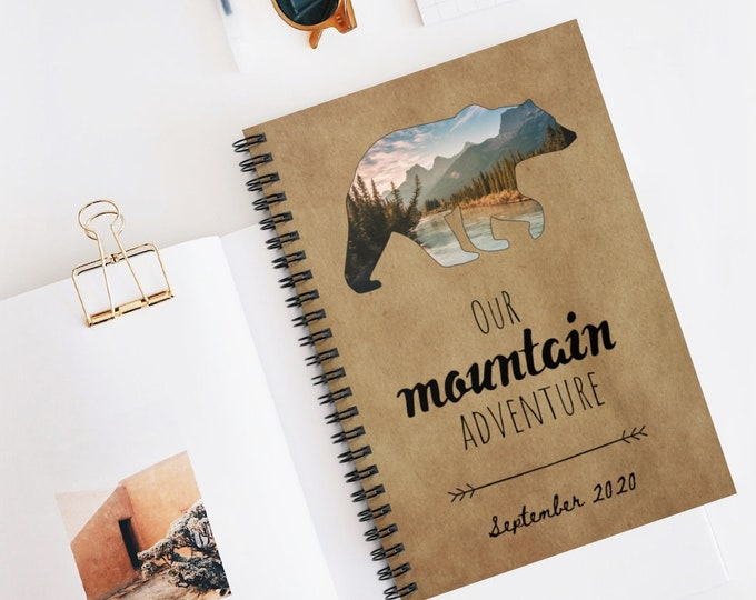 Personalized Travel Notebook