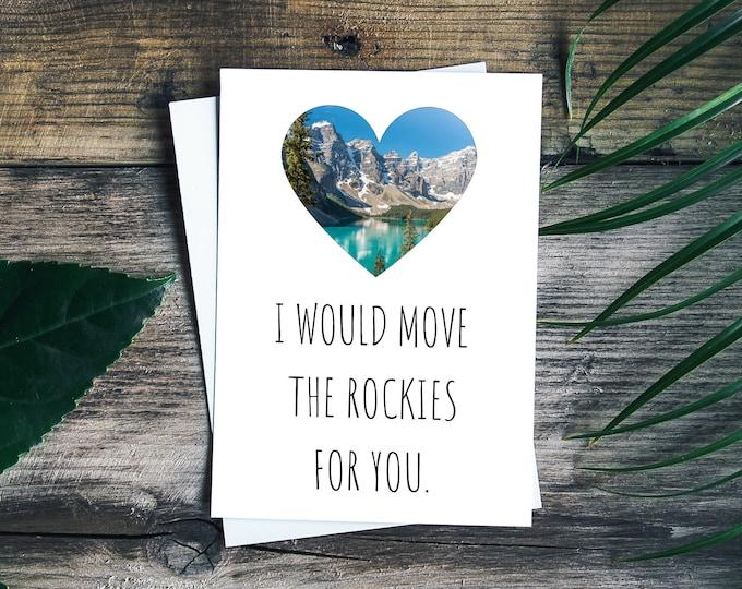 Romantic Mountain Card