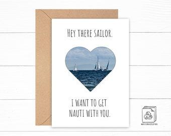Sailor Love Card