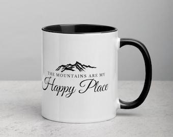Mountain Quote Coffee Mug