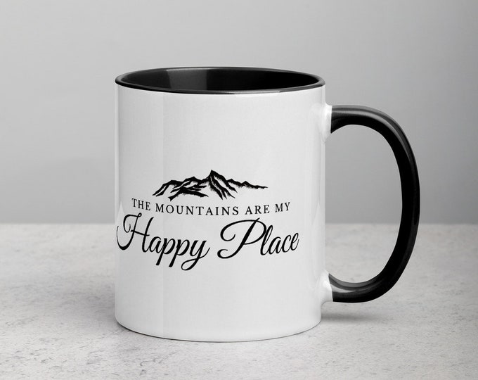 The Mountains are my Happy Place Mug