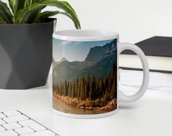 Rustic Mountain Mug