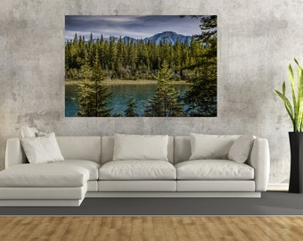 Mountain Landscape Canvas Wall Art