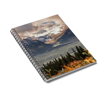 Lake Louise in Fall Notebook